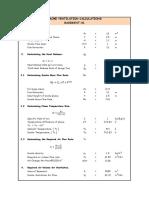 Smoke Ventilation Calculations - M Tower