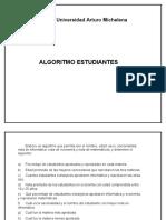 Algoritmo Estudiantes