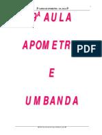 Apometria e a Umbanda
