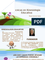 Técnicas en Kinesiología Educativa