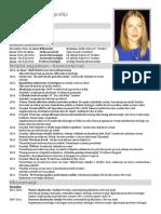 Ena Horvat CV