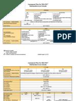 assessment plan 2016-17 august draft  1   1