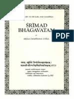 Srimad-Bhagavatam Sixth Canto Volume 1