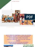 Presentacion de La Educacion en La Edad Media