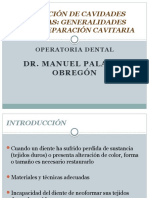 Preparación de Cavidades Dentarias
