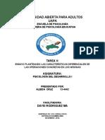 Actividad VI PSICOLOGIA DEL DESARROLLO I lista (1) (1).docx