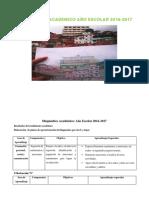 Diagnóstico Académico Año Escolar 2016