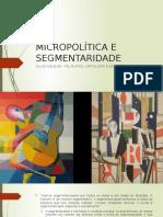 Micropolítica e Segmentaridade
