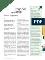 Bolsas de Plástico (Revista de Economía 2006)