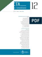 Acta Odontológica Colombiana