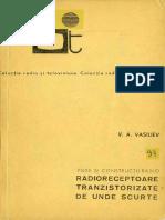 RTV093-Radioreceptoare Tranzistorizate de Unde Scurte 1970