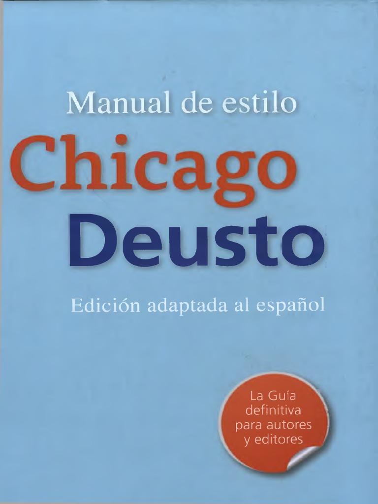 Manual de Estilo Chicago Deusto_cap 2-3!5!13!14!15