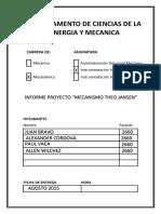 Proyecto Extra Theo Jansen