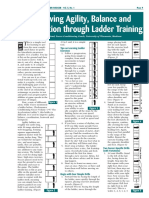 Improving Agility Balance and Coordination Through Ladder Training