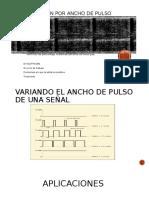Modulacion Por Ancho de Pulso
