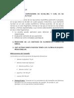 Cuestionarios 14 y 15