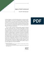 Abad Yupanqui - Libertad Religiosa y Estado Constitucional