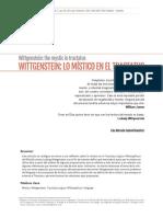 Cadavid Ramirez Lina Marcela Wittgenstein Lo Mistico en El Tratactus 2014