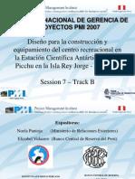 Exp Cientif PMI Peru Congreso 2007