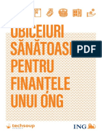 Ghid Obiceiuri Sanatoase Pentru Finantele Unui ONG