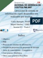 GP Terceros PMI Peru Congreso 2007