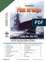 Plan Orange Rulebook by GMT