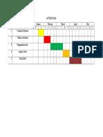 Tabel Timeline Schedule (Bayuk)