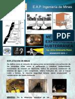 Métodos de Explotación Subterranea 1ra Semana 2015 i