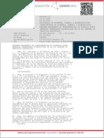 DS 062 2006 Reglamento de Transferencias de Potencia (Importanticimo)