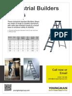 Industrial Builders Steps