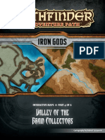 Iron Gods Maps 4 - Valley of the Brain Collectors