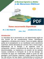 08 Relacion Precipitacion-escorrentia