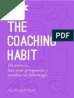 The Coaching Habit Resumen_ Di Menos, Haz Mas Preerazgo (Spanish Edition) - Michael Bungay Stanier