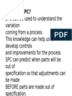 Why Use SPC