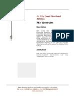 2.4 GHZ Omni Directional Antenna