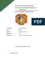 Informe DESTLACION