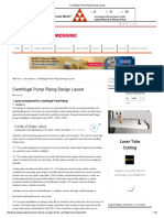 Centrifugal Pump Piping Design Layout