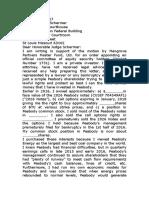 Peabody Shareholder Letter