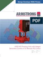 4300 IVS Designed Envelope HVAC Pumping Units With Integral Sensorless Control or for Remote IPS Control