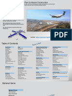 Project Execution Plan for Airport Construction
