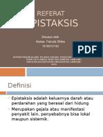 Referat Epistaksis Alyssa
