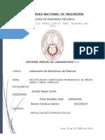 Informe Previo 3 Laboratorio de Electornica de Potencia