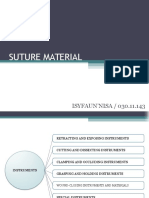 Ppt Suture Material