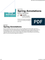 Spring Annotation