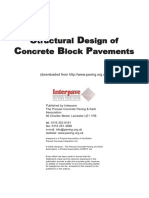 Structural Design of Concrete Block Pavements