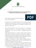 Informação do Presidente da Junta de Vermoim 04/2007