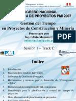 GTP Const y Min PMI Peru Congreso 2007