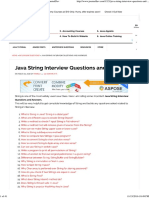 Java String Interview Questions and Answers - JournalDev