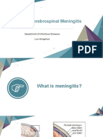 Epidemic Cerebrospinal Meningitis