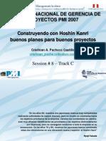Hoshin Kanri PMI Peru Congreso 2007